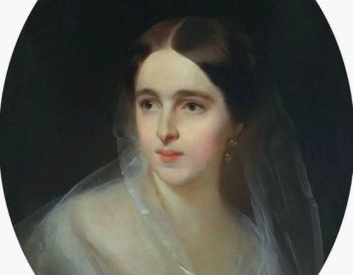 И. К. Макаров Наталия Николаевна Ланская, 1849. Фрагмент | Фото: liveinternet.ru