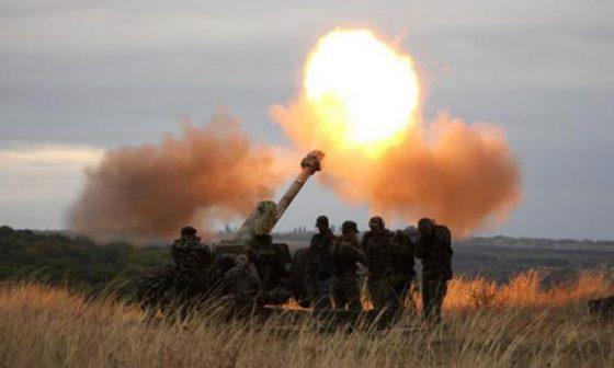 ВСУ открыли огонь по пригороду Горловки из артилерии
