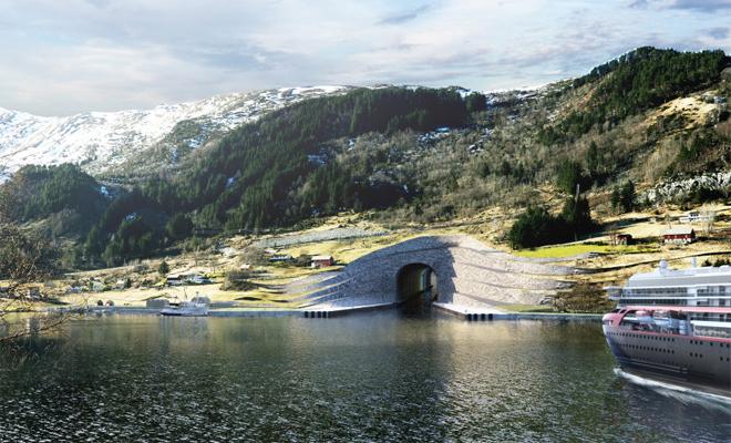 Первый в мире тоннель для кораблей появится в Норвегии. Ошеломительный проект!