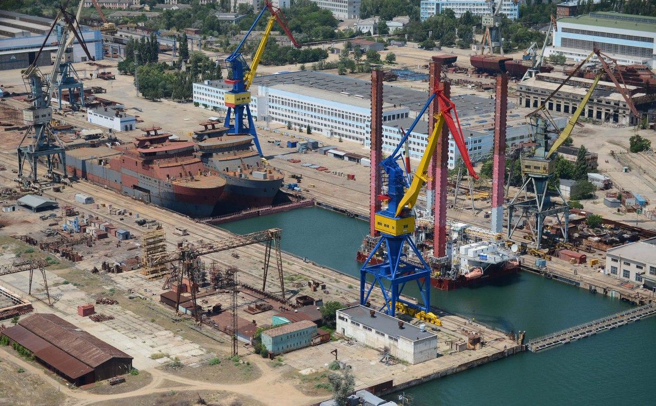 """На заводе """"Залив"""" в Керчи заложено очередное малое гидрографическое судно проекта 19910"""
