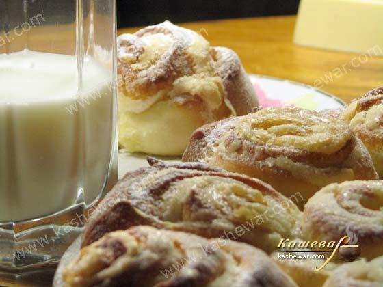 Булочки с кремом – рецепт с фото, американская кухня