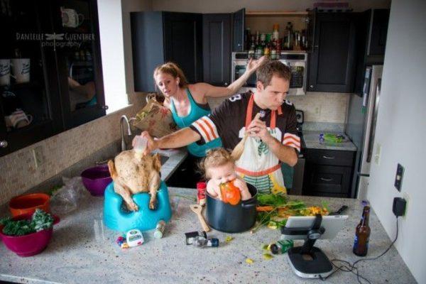Как выглядит семейная жизнь …