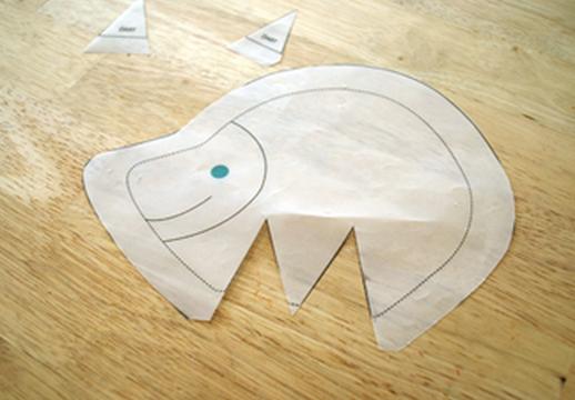 ежик и дикобраз из ткани. выкройка (1) (518x360, 435Kb)