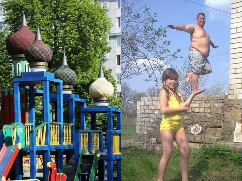 30 забавных фото, сделанных где-то в России
