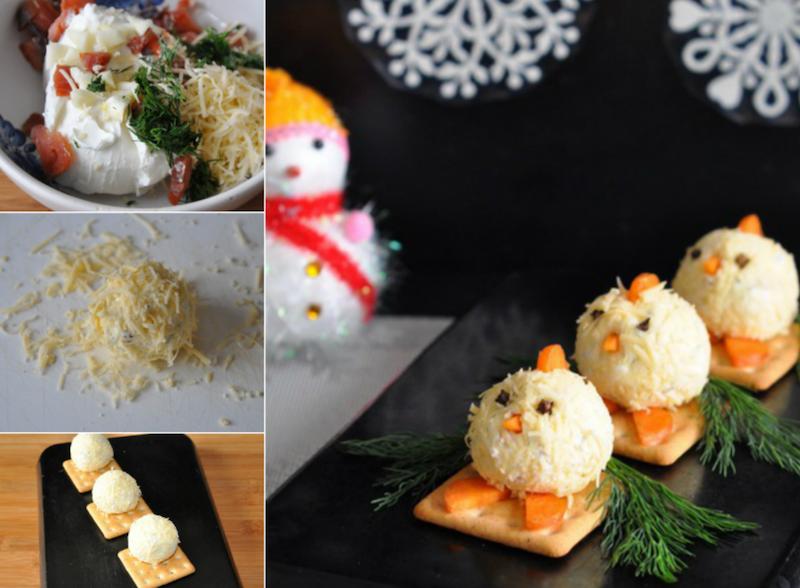 Новогодние закуски на скорую руку, которые украсят твой праздничный стол!