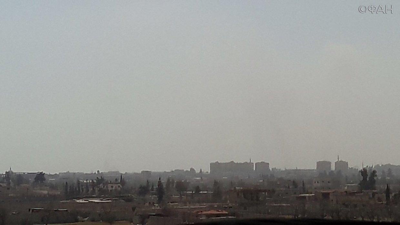 Сирия зачищает Восточную Гут…