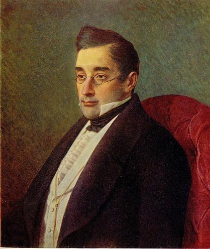 И.Н. Крамской. Портрет писателя А.С. Грибоедова