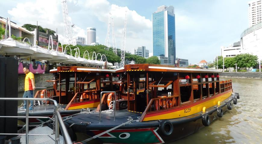 речной круиз, Сингапур