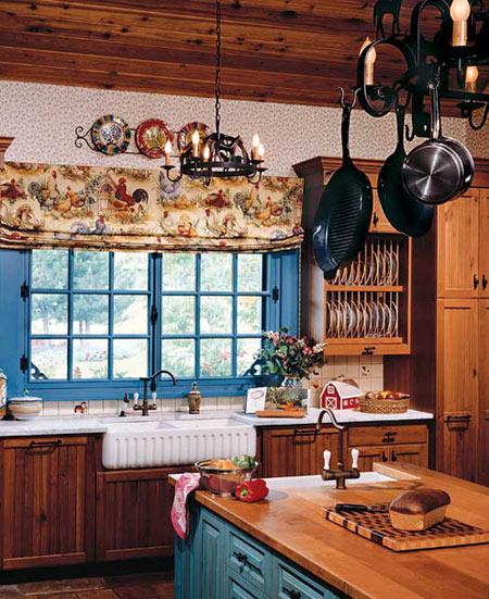 Кухни в стиле прованс.
