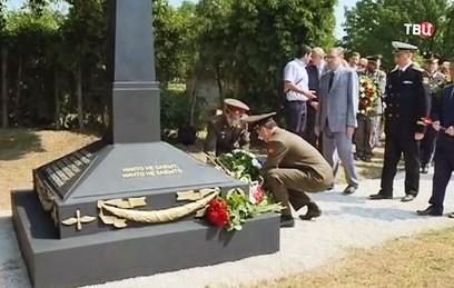 В Вене открыли памятник советским воинам