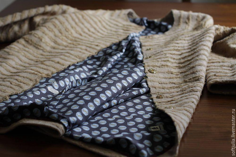 Как сделать подкладку в валяных изделиях и для чего она нужна