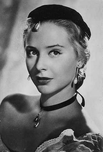 Французская актриса Женевьева Паж.