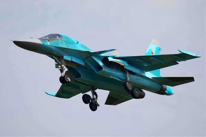 В Татарском проливе продолжаются поиски четвёртого члена экипажа Су-34