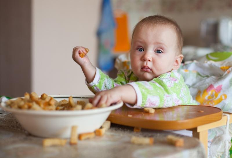 как и чем кормить ребенка в год