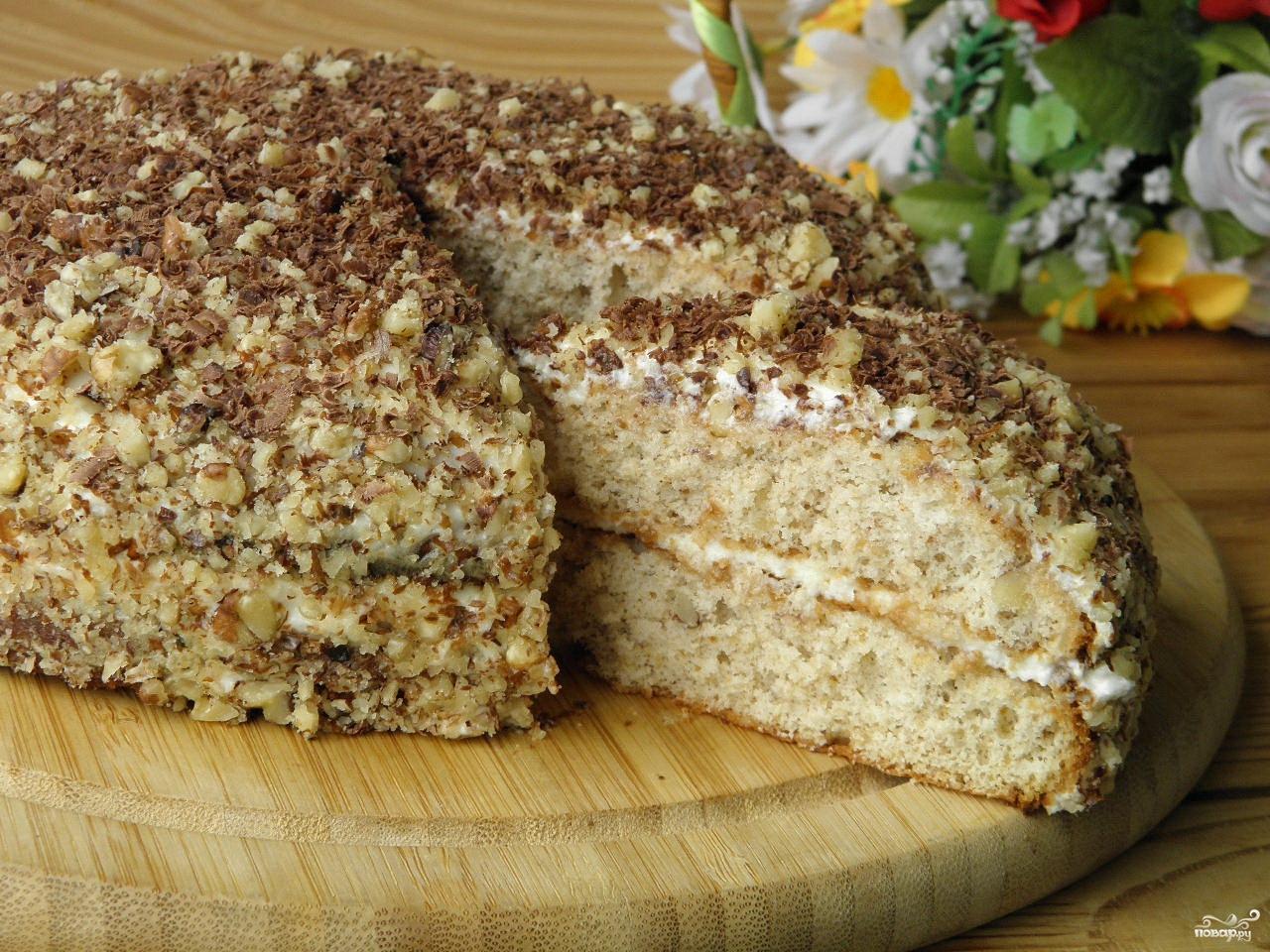 Торт медовик без масла рецепт
