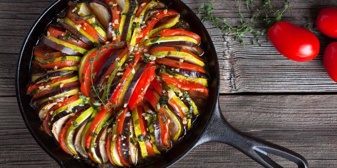 Рецепт рататуя: Приготовление в духовке