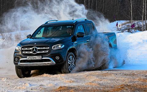 Mercedes-Benz X-класса: тест самой крутой версии на российских дорогах