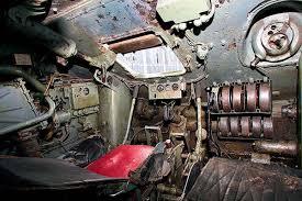 Т-34 - Внутри танка