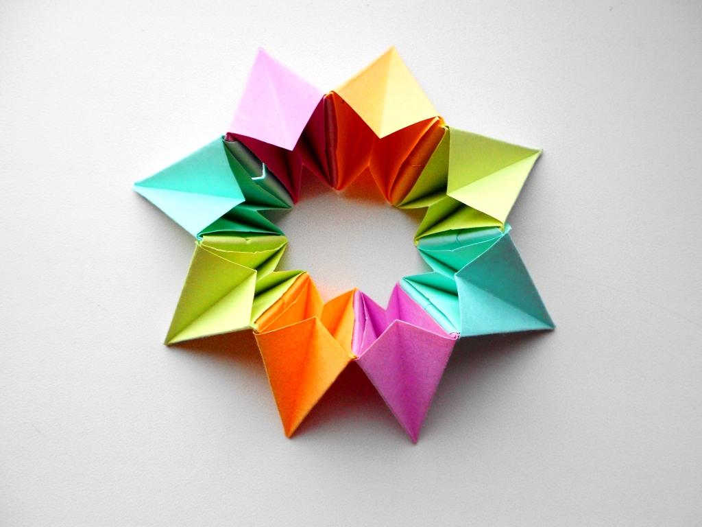 Оригами игрушка трансформер:…