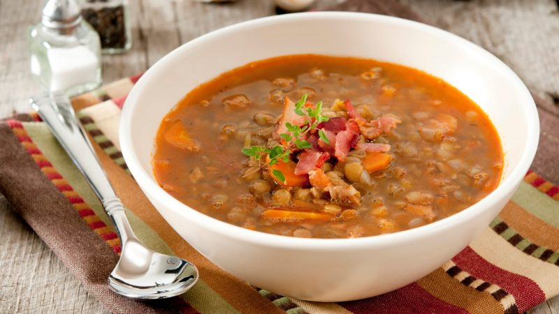 Суп из чечевицы Ñнижает риÑк рака и Ñердечно-ÑоÑудиÑÑ'Ñ‹Ñ…. Вот рецепт