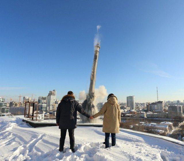 Удивительные снимки с россий…