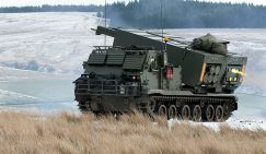 Универсальная пусковая установка США M270 MLRS