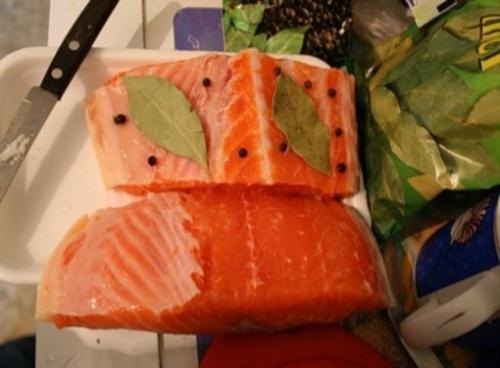 Как посолить красную рыбу в домашних условиях кижуч