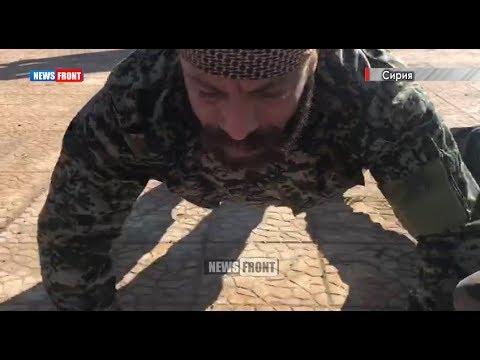 Российские инструкторы готовят профессиональных военных САА