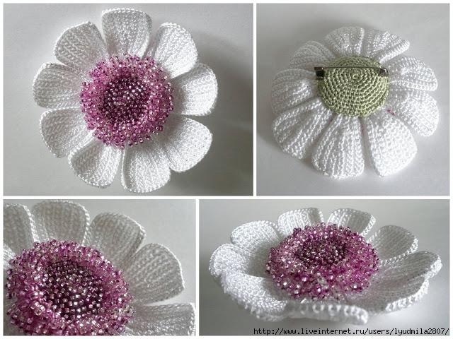 чудесные цветы крючком (1)