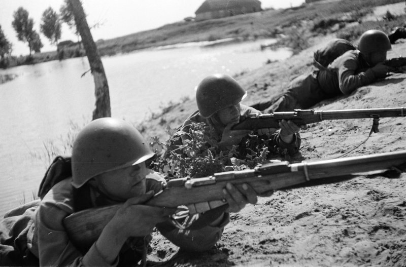 -Трёхлинейка- - легендарная винтовка Мосина-5 фото + 1 видео-