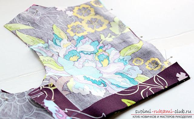Пошив платья для дочки своими руками по инструкции с фото. Фото №17