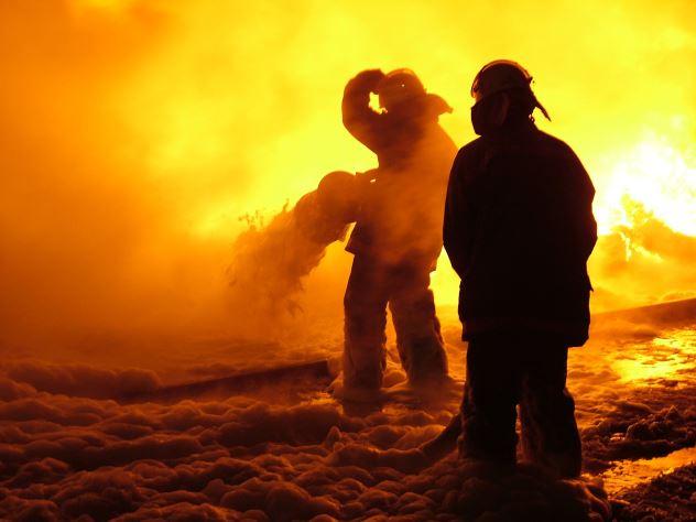 NASA из космоса сняло пожары в России