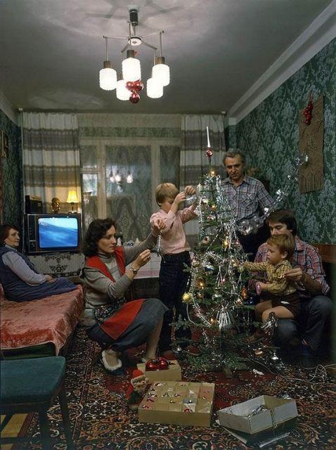 Новый год в Советском Союзе.