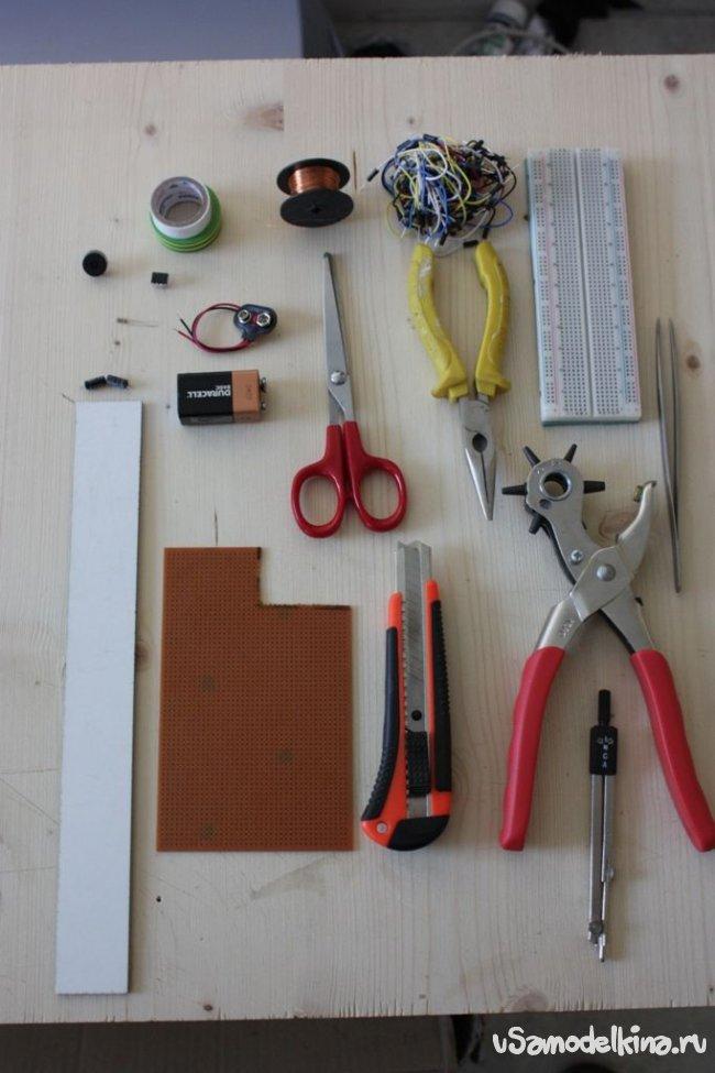 Собираем простой металлоискатель (фото и видео)