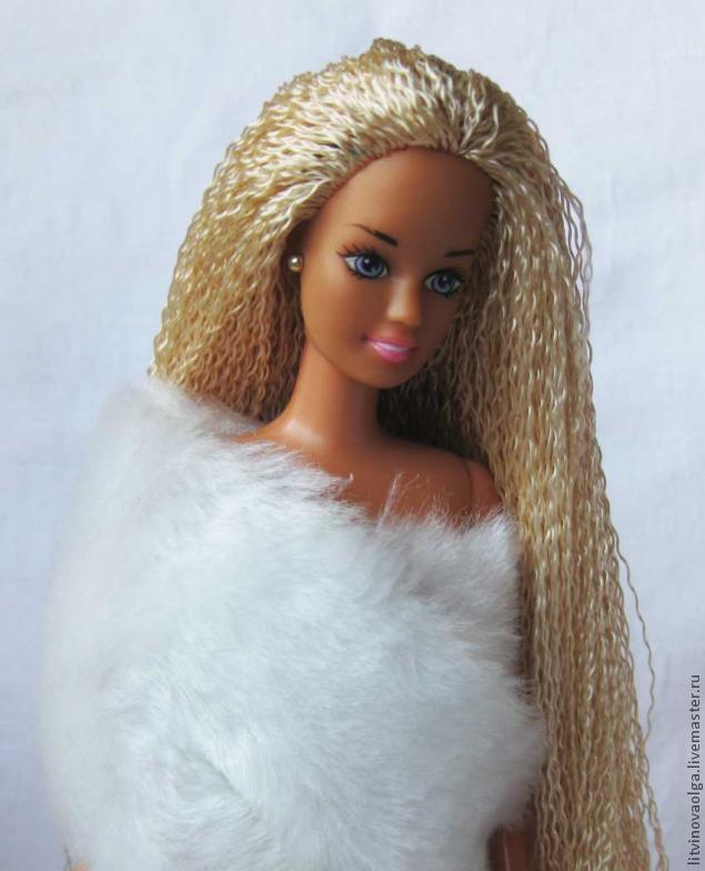 Причёски для куклам своими руками
