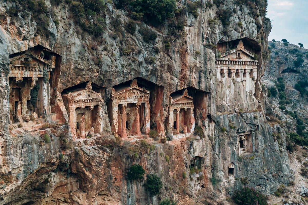 Наследие Древней Ликии на территории современной Турции. Ликийские гробницы: тайны прошлого.
