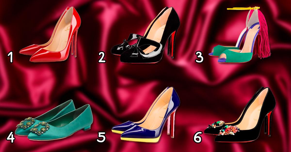 Какие туфли Вы бы выбрали себе? Выберите и узнайте какая Вы женщина!