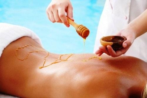 Тибетский массаж с мёдом и солью