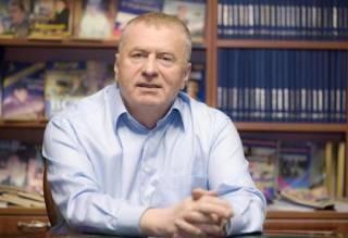 Жириновский: - Только крепкая рука остановит финансовый Майдан в России