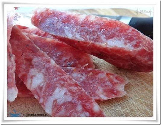 Сыровяленое мясо в домашних условиях и колбаса