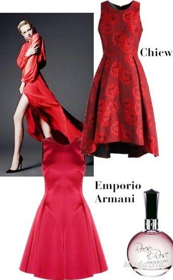 Платье на Новый год 2017 — обзор различных вариантов  с фото