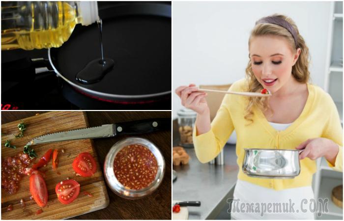 17 распространенных ошибок, которые совершает каждый второй во время готовки