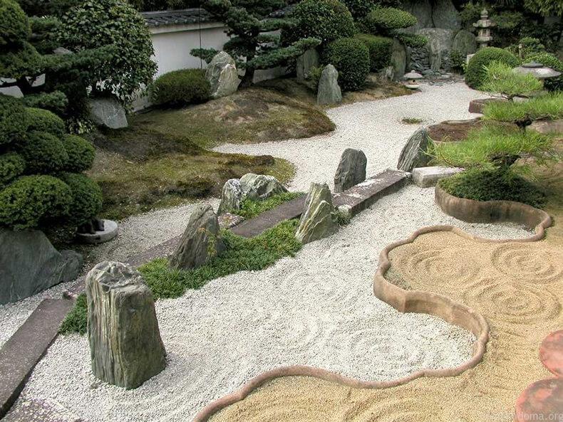 Сад камней на вашем участке