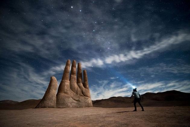 Пейзажные снимки из южноамериканской пустыни Атакама