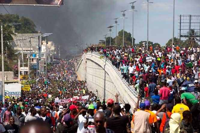 У США нет стимула говорить о демократии в Гаити