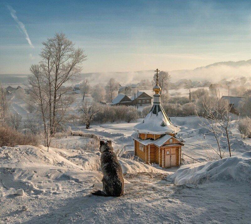 Простота и волшебство российских пейзажей