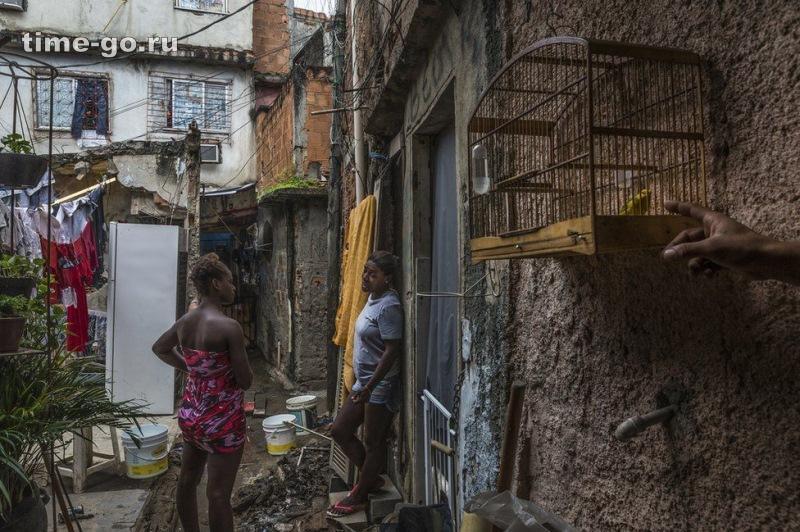 «Ад на земле»: фото бразильских трущоб, от которых становится страшно.
