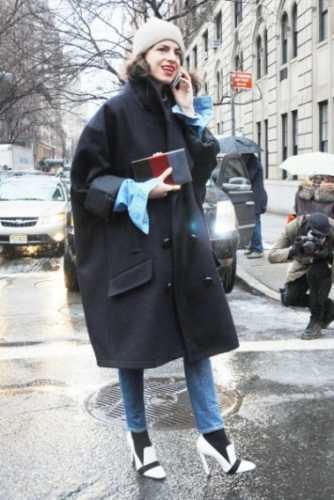 объемные пальто