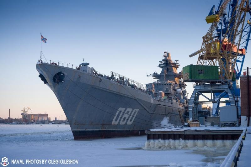 Тяжелый атомный ракетный крейсер проекта 1144 «Адмирал Нахимов» будет передан ВМФ в 2022 году