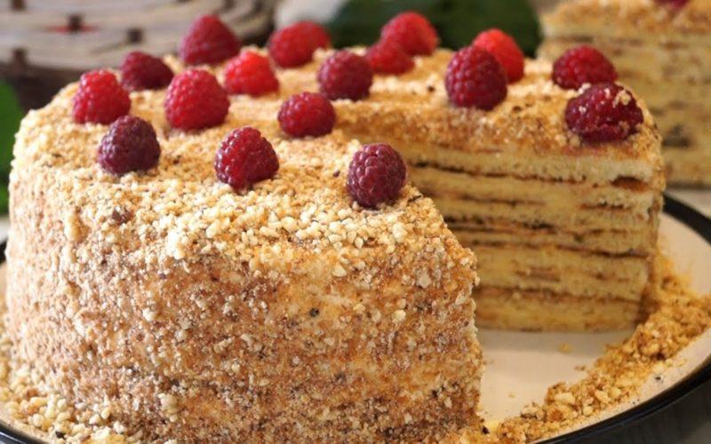 Бесподобно вкусный тортик бе…